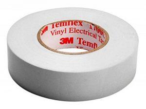 3M Ruban isolant Temflex 15mmx10m Blanc, bandes de White/3M de la marque 3M Temflex image 0 produit