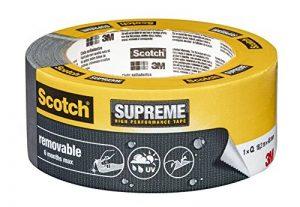 3M Scotch Ruban Toilé de Réparation Enlevable 18,2m x 48mm 1 Rouleau Gris de la marque Scotch image 0 produit