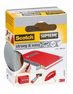 3M Scotch Ruban Toilé de Réparation Fort et Facile 3m x 38mm 1 Rouleau Argent de la marque Scotch image 0 produit