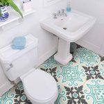 4 Sticker adhésif revêtement sol carrelages azulejos anti-dérapant - 20 x 20 cm - 4 pièce de la marque Ambiance-Live image 2 produit