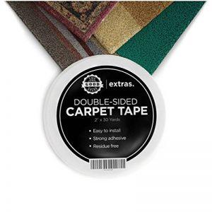 Adhesif Double Face Extra Fort - Anti-dérapant pour Tapis - 5cm x 22m de la marque The Good Stuff image 0 produit