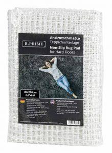 B.PRIME 80x200cm Antidérapant et Protection pour Tapis I sous-Tapis I Découpable aux Ciseaux de la marque B.PRIME image 0 produit