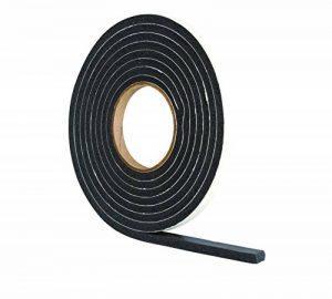 Bande de joint très épaisse en mousse caoutchouc anti-courant d'air pour interstices entre 4 à 7mm - Noire 3,5m de la marque STORMGUARD image 0 produit