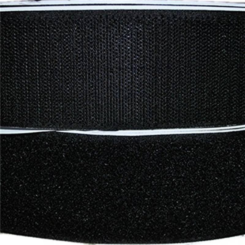 10 Metres Noir VELCRO Brand Fermeture scratch Adh/ésif Dos Collant bande fixation en noir 50MM large
