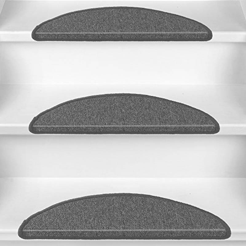 Antid/érapant Pose Rapide Facile Beautissu 15 Tapis de Marche descalier ProStair 28x65cm Couture Robuste Sable