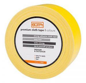 Boma - B47008700011 - Ruban adhésif toilé pour réparations, couleur jaune, 50 mm x 5 m de la marque Boma image 0 produit