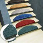 Casa Pura Tapis de marche d'escalier de Leipzig, Ensemble 15pièces (23x 65cm)–Plusieurs couleurs |, durable, antidérapant, protection, rouge de la marque casa pura image 1 produit