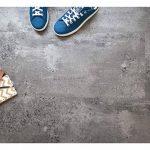Dalles sol PVC Adhésives - Aspect Béton gris argenté de la marque Decoweb image 3 produit