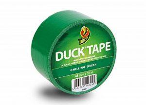 Ducktape 100-05 Ruban Adhésif, 48 mm x 10 m, à Bricoler et Embellir, Vert de la marque Duck Tape image 0 produit
