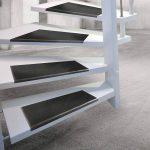 ETM® antidérapant Tapis de marches d'escaliers en caoutchouc–Épaisseur 0.8cm–extérieur 100% résistant aux intempéries–Superbe Grip–Lot de 5–Santiago, noir de la marque etm image 4 produit