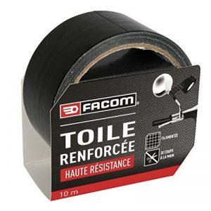 FACOM 84371 Adhésif renforcé Haute résistance 10 m x 48 mm, Noir de la marque Facom image 0 produit