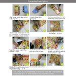 fasloyu Papier peint autocollant, facile à appliquer, pour salle de bain/cuisine, pour carrelage de sol, 12couleurs au choix (20x 50cm, 20cmx 500cm), PVC, a, 20 cm * 500 cm de la marque fasloyu image 4 produit