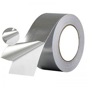 Feuille d'aluminium 260le meilleur pour chauffage, Ventilation et Climatisation, conduits, isolation, et Heavy Duty Feuille d'aluminium multifonction à bande, ruban adhésif en feuille d'aluminium de la marque Aixin image 0 produit