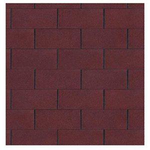Gartenpirat Bardeau bitumé rectangle rouge 3 m² de de la marque Gartenpirat image 0 produit
