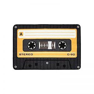Geschenktrends Rockbites Tape Coole Tapis Tapis Orange 50 x 80 cm + Tapis Qui pour Studio d'enregistrement de la marque Geschenktrends image 0 produit