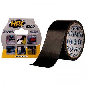 HPX CS5005 6200 Ruban toile adhésif Noir de la marque HPX image 0 produit