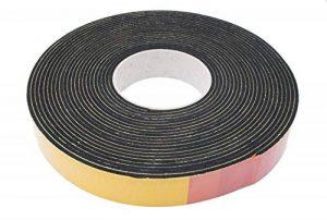 Joint en caoutchouc mousse Noir 10 m 3 x 50 mm de la marque Warenhandel Feuchter GmbH image 0 produit