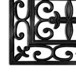 Lot de 5 marchettes casa pura® pour escaliers extérieurs | résistantes aux intempéries : caoutchouc robuste | design classe | Colombo - 25x75cm de la marque casa pura image 1 produit