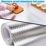 lzndeal Autocollant imperméable Auto-adhésif de Mur de Papier Peint de Papier Peint de Papier d'aluminium de Papier d'aluminium de la marque lzndeal image 1 produit