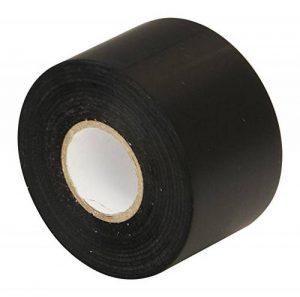 Noir PVC Isolation électrique ruban adhésif–50mm x 33m–Large (5,1cm) haute qualité Heavy Duty Premium Rouleau par Gocableties de la marque Gocableties image 0 produit