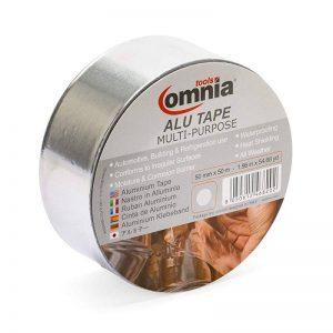 OMNIA TOOLS ALU Ruban à Usages Multiples en Feuille d'Aluminium | Argent 50mm x 50m de la marque OMNIA TOOLS image 0 produit