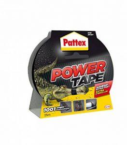 Pattex - 1669824 - Adhésifs Réparation Power Tape Etui - 25 m - Noir de la marque Pattex image 0 produit