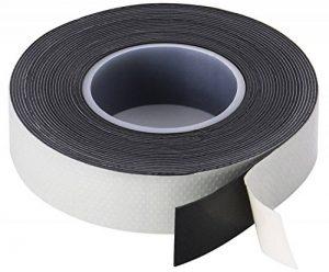 Poppstar - 1x Ruban isolant universel auto-fusionnant (ruban d'étanchéité, auto-soudage), LxWxH 5m x 19mm x 0,76mm, noir de la marque Poppstar image 0 produit