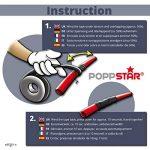 Poppstar - 1x Ruban isolant universel auto-fusionnant (ruban d'étanchéité, auto-soudage), LxWxH 5m x 19mm x 0,76mm, noir de la marque Poppstar image 3 produit