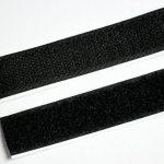 Purovi 5 m de bande auto-adhésif, boucle et crochet, 20 mm de large, noir de la marque Purovi image 3 produit