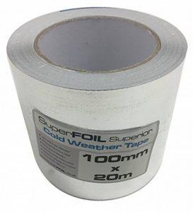 Qualité supérieure ruban d'aluminium 100mm par 20m pour SuperFOIL Isolation Multifoil de la marque SuperFOIL image 0 produit
