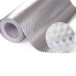 (Rhombus) - Ya Jin Kitchen Oil Proof Waterproof Sticker Aluminium Foil Kitchen Stove Cabinet Drawer Self Adhesive Wallpaper, Rhombus de la marque Ya Jin image 1 produit