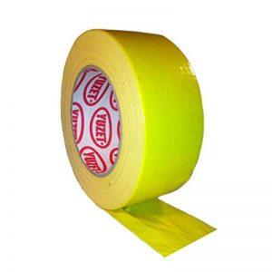 Rouleau de ruban adhésif Jaune 48 mm x 50 m de la marque Cable-Tex image 0 produit