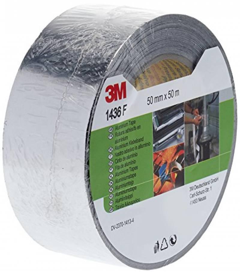 Tapecase 2 5,5/m 6-1120/ruban daluminium en aluminium Argent/é avec adh/ésif conducteur en acrylique Longueur Convertis /à partir de 3/m 1120 rouleau 5,1/cm Largeur