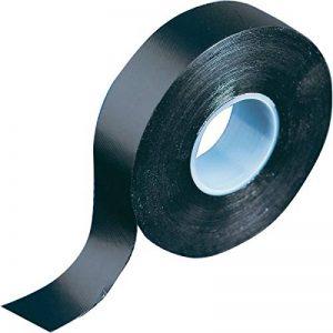 Ruban adhésif en caoutchouc auto-amalgamant noir de qualité supérieure de Gocableties, 19mm x 10m, réparation étanche, rouleau de qualité de la marque Gocableties image 0 produit