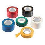 Ruban adhésif isolant électrique Haute température la Résistance PVC Tape Ruban isolant Rouleau Mixte Couleur Lot de 6 de la marque MUXItrade image 2 produit