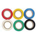 Ruban adhésif isolant électrique Haute température la Résistance PVC Tape Ruban isolant Rouleau Mixte Couleur Lot de 6 de la marque PHIMIITA image 4 produit