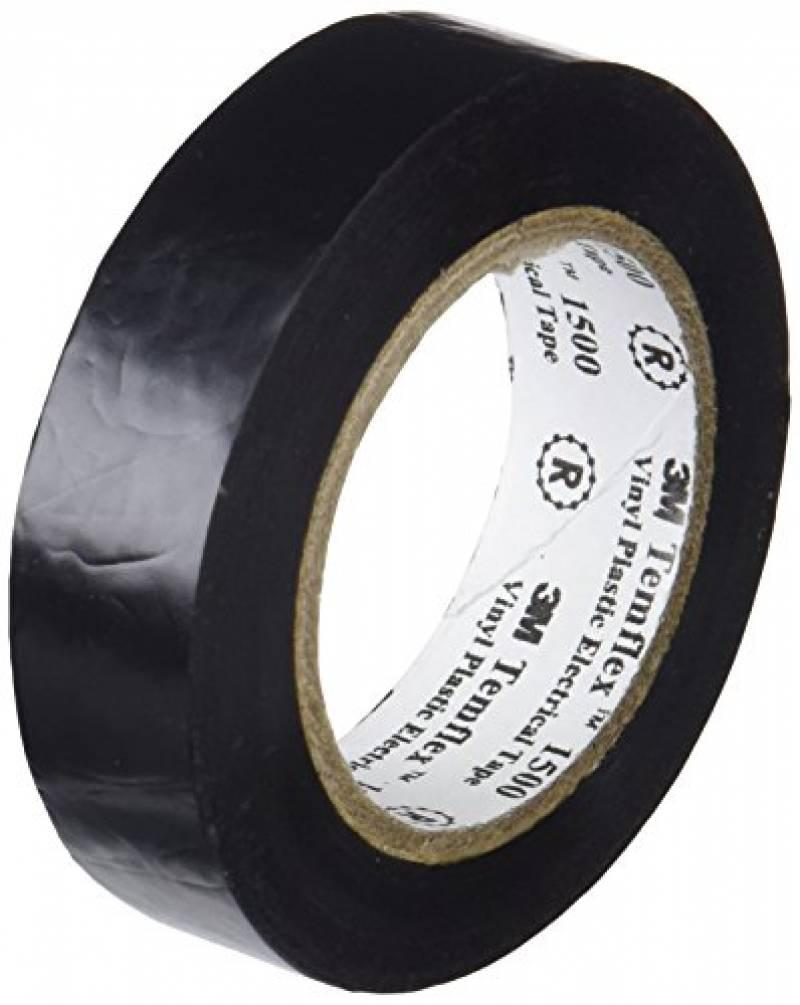Scotch temflex isolation d/'isolation de bande 10m x 15 mm ruban noir de qualité
