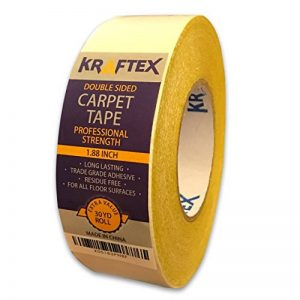 Ruban à tapis 27,4m - technologie antidérapante - double face - pour tout type de sol de la marque Kraftex image 0 produit