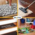 Ruban à tapis 27,4m - technologie antidérapante - double face - pour tout type de sol de la marque Kraftex image 1 produit