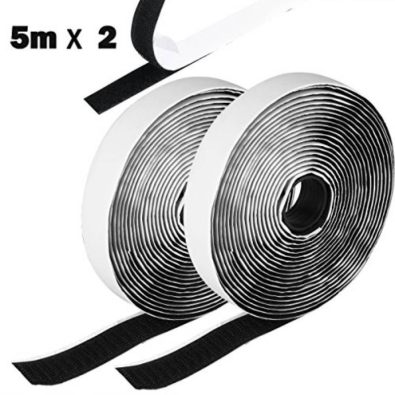bandes Autocollant Bande Velcro bande Velcro extr/êmement solide adh/ésif Face adh/ésive