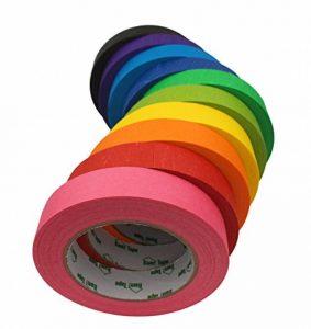 Rubans de Masquage Colorés – Pour Décoration des Classes, Projets Artistiques de la marque Bam! Tape image 0 produit
