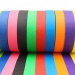 Rubans de Masquage Colorés – Pour Décoration des Classes, Projets Artistiques de la marque Bam! Tape image 1 produit
