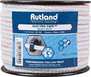 Rutland 19-150R Ruban pour clôtures électriques 12 mm x 100 m de la marque Rutland image 0 produit