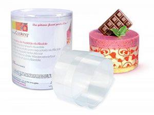 ScrapCooking 9425 Ruban Rhodoïde pour Entremets, PVC, Multicolore, 9,4 x 6 x 6 cm de la marque ScrapCooking image 0 produit