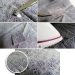 SERWOO 280 Yards 4 Rouleaux Ruban d'Ourlet Blanc et Noir Bande Thermocollante Tissu Fusing pour Vêtement Pantalon(Largeur : 10mm et 15mm, 70 Yards par Chaque Rouleau) de la marque SERWOO image 3 produit