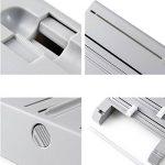 Symboat 6 dans 1 cuisine réfrigérateur s'accrocher film stockage rack étagère en aluminium film wrap cutter Tenture murale de la marque Symboat image 3 produit
