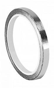 Tapecase 0.125–5-421Argent foncé Laisse en caoutchouc/ruban adhésif, plomb, Aluminium Tape-converted à partir de 3m 421, 60–225°F Température de la Performance, 0cm d'épaisseur, 12,7cm de long, 0,3cm de large, rouleau de la marque 3M image 0 produit