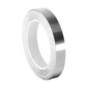 Tapecase 0,25–5-420Argent foncé plomb/caoutchouc, du ruban adhésif Linered Laisse Feuille Tape-converted à partir de 3m 420, 60–225°F Température de la Performance, 0cm d'épaisseur, 12,7cm de long, 0,6cm de large, rouleau de la marque 3M image 0 produit