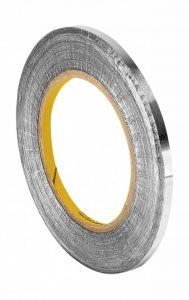 Tapecase 11200,3cm X 32,9m Argent en feuille d'aluminium ruban adhésif avec adhésif conducteur en acrylique, Convertis à partir de 3m 1120, 32,9m. Longueur, 0,3cm Largeur, rouleau de la marque 3M image 0 produit