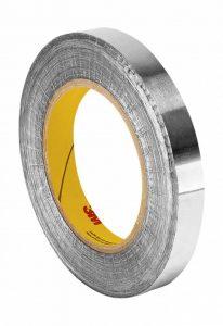 Tapecase 4211,8cm X 32,9m Argent foncé Laisse en caoutchouc/ruban adhésif, plomb, Aluminium Tape-converted à partir de 3m 421, 60–225°F Température de la Performance, 0cm épais, 32,9m. Longueur, 1,8cm Largeur, rouleau de la marque 3M image 0 produit